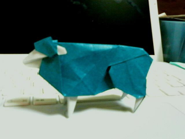 簡単 折り紙 羊の折り紙 : origamigasakebuyoru.seesaa.net